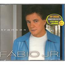 Fabio Jr Cd Single Promo Transas - Novo Lacrado Raro