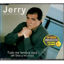 Jerry Adriani Cd Single Promo Tudo Me Lembra Você - Raro