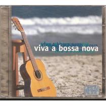 Cd Viva A Bossa Nova - Com Marcos Valle, Joyce E Outros.