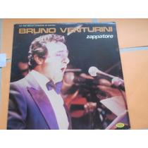 Bruno Venturini Zappatore Vinil Made In Italy Lp Único No Ml