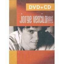 Dvd+cd-jorge Vercilo-livre-lacrado De Fabrica