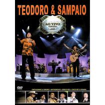 Dvd Teodoro & Sampaio - Ao Vivo Convida