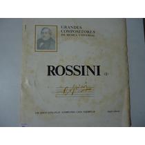 Disco De Vinil Lp Grandes Compositores Da Música Rossini