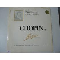 Disco De Vinil Lp Grandes Compositores Da Música Chopin