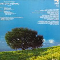 Lp George Winston - Winter Into Spring Solo Pian Vinil Raro
