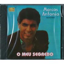 Cd Marcos Antônio - O Meu Segredo [bônus Playback]