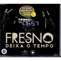 Fresno Cd Single Promo Deixa O Tempo 2 Versões Lacrado Raro