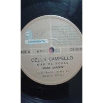 Compacto Celly Campello - Mar De Rosas (1971)