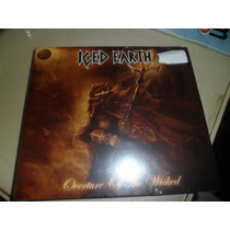Cd Nacional Single - Iced Earth - Overture Of The Wicked