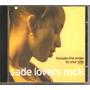 Cd - Sade - Lovers Rock - Includes Single - 2000 - Importado