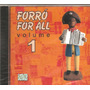 Cd Forro For All - Nando Cordel, Jacson Do Pandeiro, Assisao