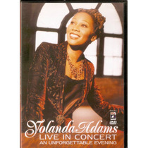 Dvd Yolanda Adams - Live In Concert / Raro - Novo***