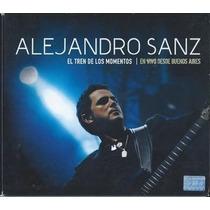 Dvd+cd Alejandro Sanz El Tren De Los Momentos En Vivo Desde