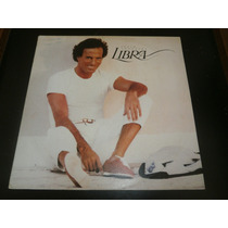 Lp Julio Iglesias - Libra, Disco Vinil C/ Encarte, Ano 1985