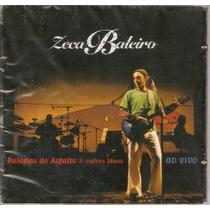 Cd Zeca Baleiro - Baladas Do Asfalto E Outros Blues Ao Vivo