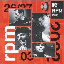Cd Rpm - Mtv 2002 - Ao Vivo * Lacrado * Raridade