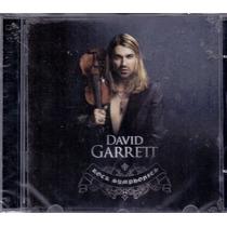 Cd David Garrett - Rock Symphonies - Novo***