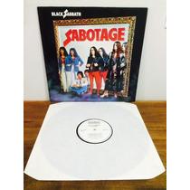 Lp Black Sabbath - Sabotage Importado 1980 Excelente
