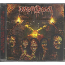 Fleshcrawl As Blood Rains From The Sky 2000 Death Cd Imp**