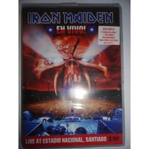 Dvd Duplo Iron Maiden - En Vivo! Lacrado