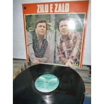 Zilo E Zalo Lp Raro 1976