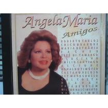 Cd - Angela Maria - Amigos