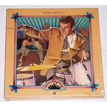 Lp Gene Krupa Box 2 Lps Importado Lacrado Original Raridade