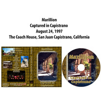 Dvd Marillion - Captured In Capistrano 1997 Usa