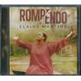 Cd+playback Elaine Martins - Rompendo [frete Grátis]