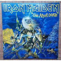 Lp Iron Maiden - Live After Death / Disco Duplo Novo