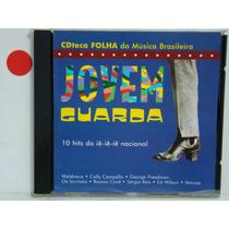 Cd - Cdteca Folha Da Música Brasil.-jovem Guarda-coletanea