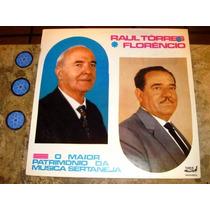 Lp Raul Torres E Florencio - Maior Patrimonio Sertaneja (71)