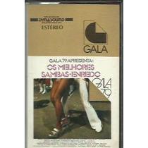 Fita Cassete Os Melhores Sambas-enredo Gala 79