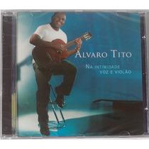 Cd Alvaro Tito Voz E Violão Vol.1 Voz E Play Back Aa Lacrado