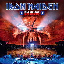 Iron Maiden Cd Duplo En Vivo Novo Original Frete R$ 7,10