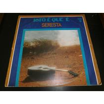 Lp Jézio Araujo - Isto É Que É Seresta Vol.9, Vinil De 1976