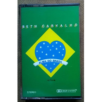 Beth Carvalho - Alma Do Brasil - Fita Cassete De 1988 K7