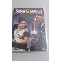 Dvd Jorge E Mateus-o Mundo É Tão Pequeno Ao Vivo Novo