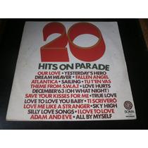 Lp 20 Hits On Parade, Dance Music, Disco Vinil Raro De 1976