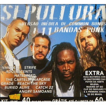 Cd Single Sepultura 11 Bandas Punk Usado
