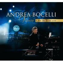 Andrea Bocelli - Dvd Vivere Live In Tuscany Original Lacrado