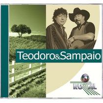 Cd Teodoro & Sampaio Globo Rural 2006 Lacrado Original Raro