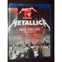 Metallica Orgulho, Paixão E Glória Blu-ray Novo Lacrado Orig