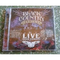 Cd Black Country Communion - Live Over Europe (duplo)