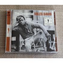 Cd Miles Davis The Essential - Duplo - Made In Austria