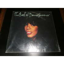 Lp The Best Of Donna Summer 1990 - Disco Vinil Raro Seminovo