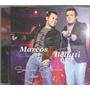 Cd Marcos E Belutti -vivo- Bruno Marrone Joao Bosco Vinicius