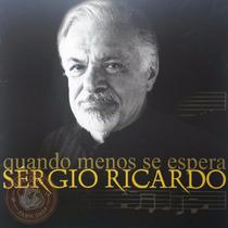 Sergio Ricardo Cd Novo Quando Menos Se Espera Nacional A2