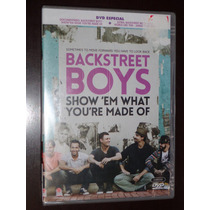 Dvd Duplo Backstreet Boys - Show Em What You