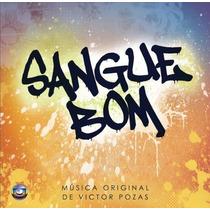 Cd Novela Sangue Bom Instrumental (2013) * Lacrado Raridade